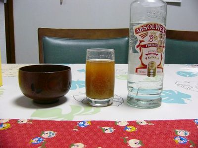 味噌汁とウォッカ